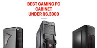 Best PC cabinet Under 3000