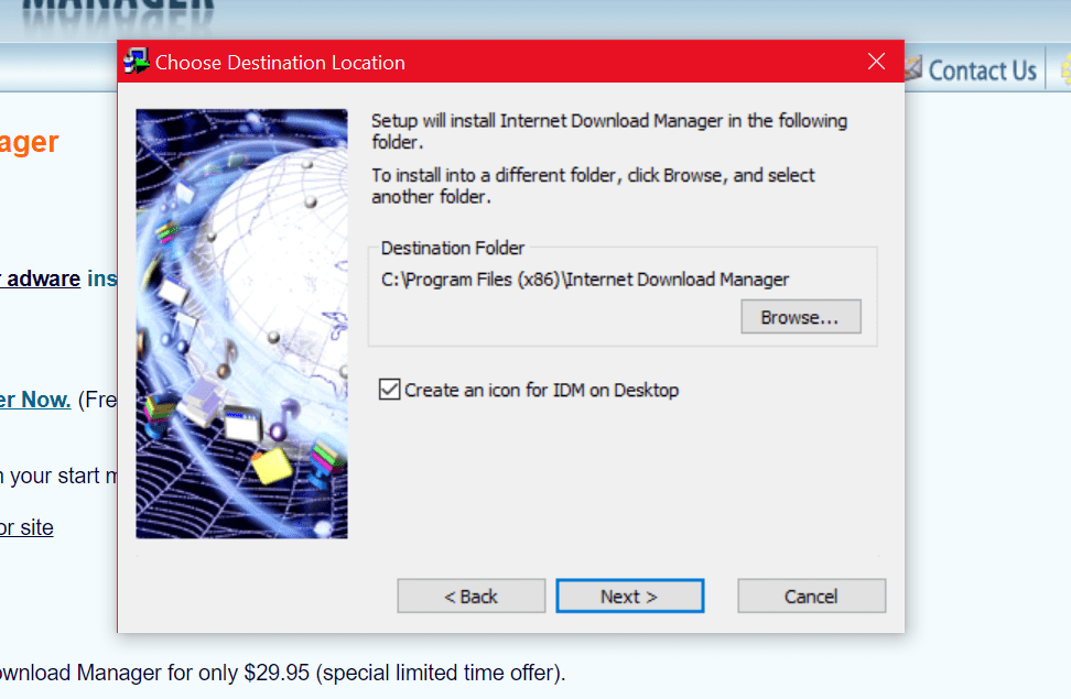 Add IDM Extention to Chrome
