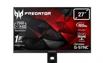 Best QHD 2k Monitor With 165HZ