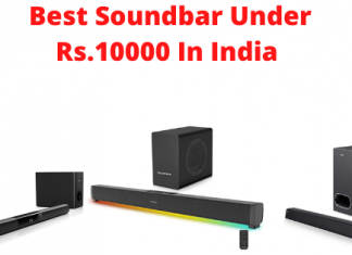Best Soundbar Under 10000 In India