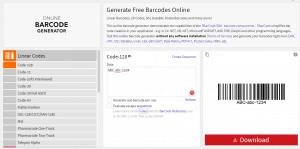 Barcode Scanner Online